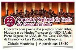 panfleto Orquestra Regional da Costa do Descobrimento