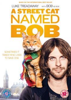 panfleto 'Um Gato de Rua Chamado Bob'