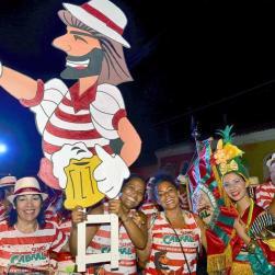 panfleto 2° Festival do Chopp do Bloco Suvaco do Cabral