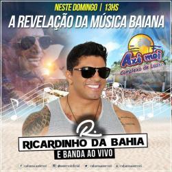 panfleto Ricardinho da Bahia