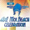 panfleto Luau Axé Moi Beach Celebration