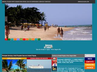 panfleto Portal Oficial de Arraial d Ajuda