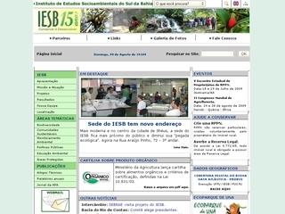 panfleto IESB - Instituto de Estudos Socioambientais...