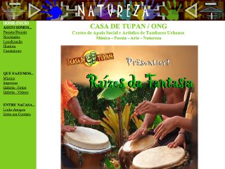 panfleto Casa de Tupan