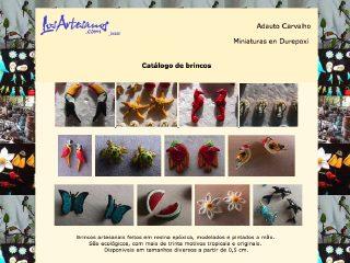 panfleto Adauto Carvalho de Souza - Artesanato