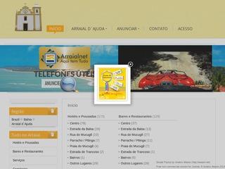 panfleto Arraial.net