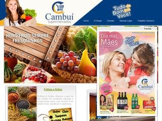 panfleto Supermercado Cambui