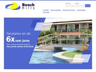 panfleto Hotel Beach Hills