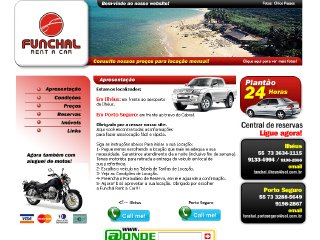panfleto Funchal Rent a Car