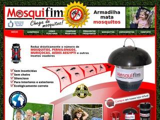 panfleto Mosquifim - Armadilhas para mosquitos