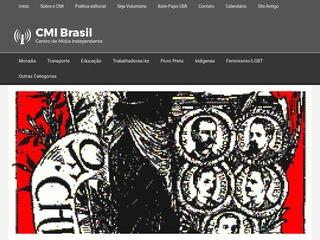 panfleto Centro de Mídia Independente - Brasil