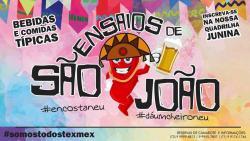 panfleto Ensaios de São João