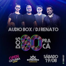 panfleto Bombordo Noite - Audio Box & DJ Renato