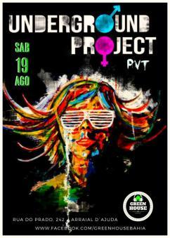 panfleto Underground Project