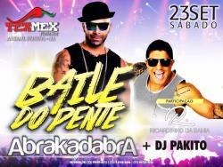 panfleto Baile do Pente - Abrakadabra