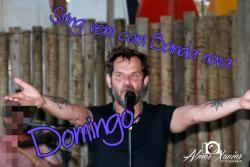panfleto Sting + banda nova