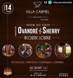 panfleto Ovandré & Sherry