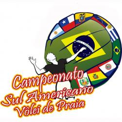 panfleto Circuito Sul-Americano de Vôlei de Praia