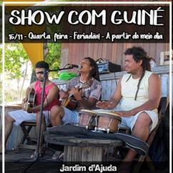 panfleto Banda Guiné