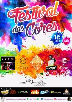 panfleto Festival das Cores
