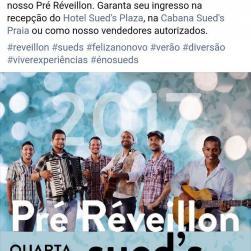 panfleto Pré-Réveillon com Cacimba Barrenta e Fernando Cruz