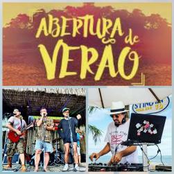 panfleto Festa do Verão - Banda da Praia + DJ Zenon