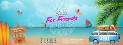 panfleto Baile For Friends