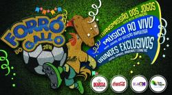 panfleto Forró do Gallo 2018 - Brasil x Suíça