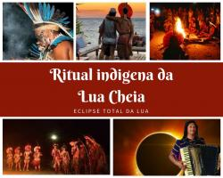 Ritual indigena Pataxó da Lua Cheia + Isaac do Accordeon