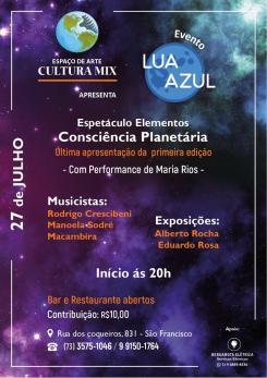 panfleto Lua Azul -Consciência Planetária