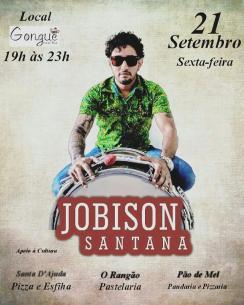 panfleto Forró ao vivo - Jobison Santana