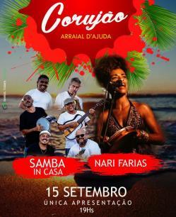 Samba InCasa + Nari Farias