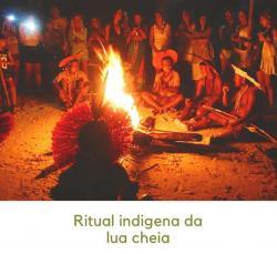 Ritual indígena Pataxó da Lua Cheia