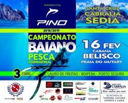 panfleto 2ª Etapa do Campeonato Baiano de Pesca Submarina