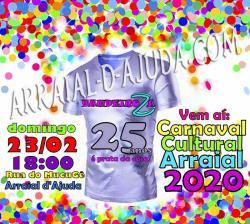 panfleto BANDEIROZA 25 ANOS