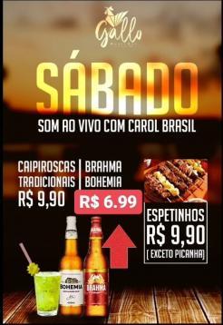 panfleto Carol Brasil