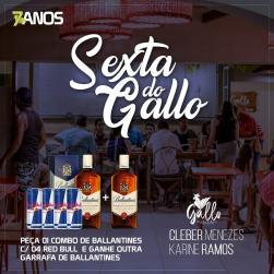 panfleto Cleber Menezes e Karine Ramos