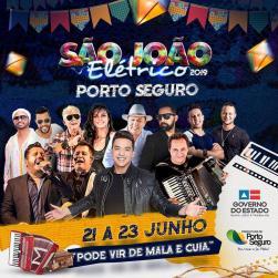 panfleto São João Eletríco 2019