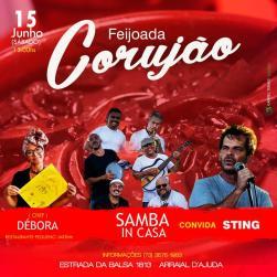 Samba InCasa feat. Sting + feijoada