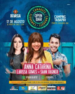 panfleto Anna Catarina, Larissa Gomes e Saan Vagner