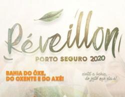 panfleto Réveillon 2020 - Bahia do Ôxe, do Oxente, do Axé