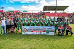 panfleto Campeonato Intermunicipal de Futebol 2019