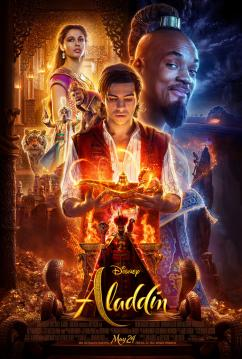 panfleto 'Aladdin'