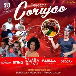 Paulla Oliveira, Samba InCasa, Sting + Feijoada