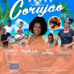 Paulla Oliveira + Samba InCasa + feijoada