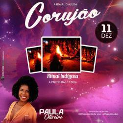 Paulla Oliveira + Ritual indígena Pataxó da Lua Cheia