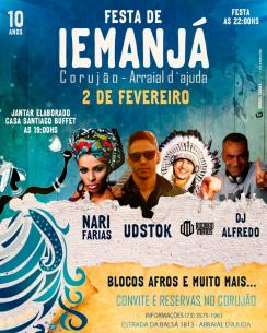 panfleto Corujão Iemanjá