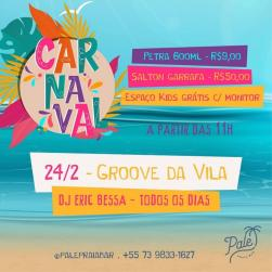 panfleto Groove da Vila