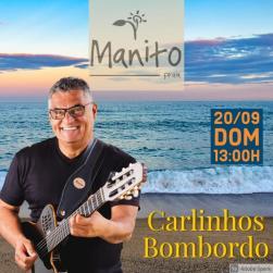 panfleto Carlinhos Bombordo