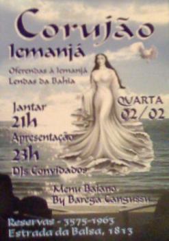 Corujão Iemanjá